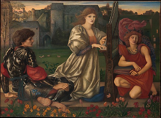 The Love Song by Sir Edward Burne-Jones