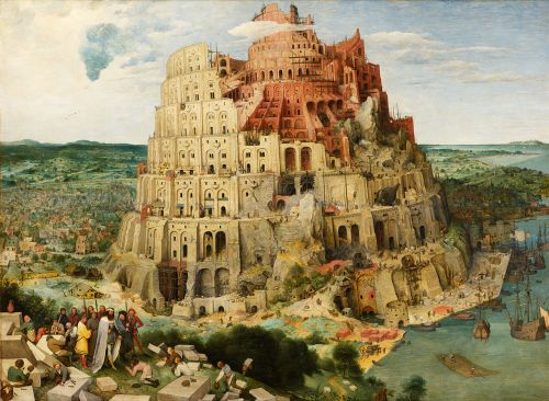 The Tower of Babel.