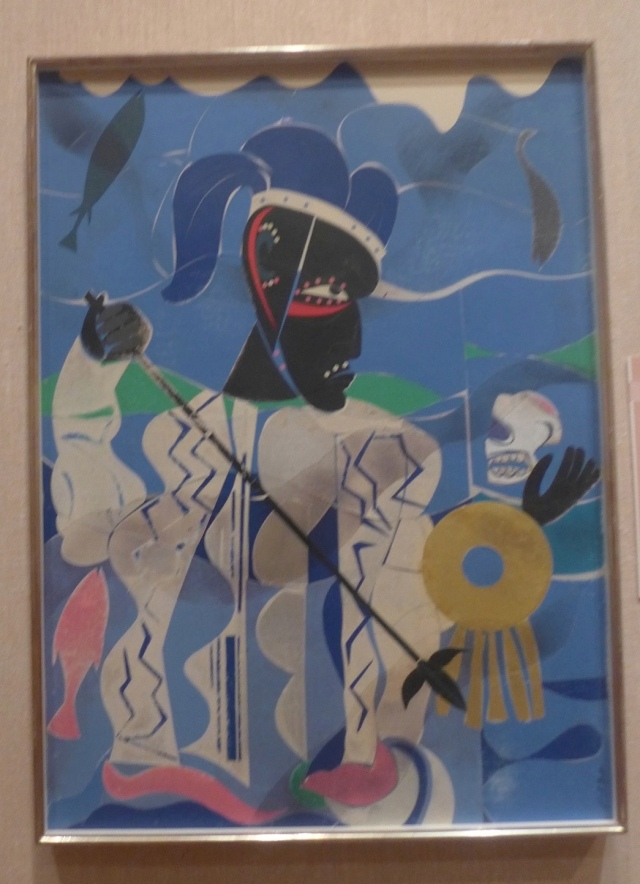 From Romare Bearden's A Black Odyssey. (Photo by Suzanne Loebl)