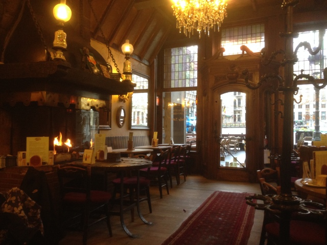 Cafe on the Grand Place