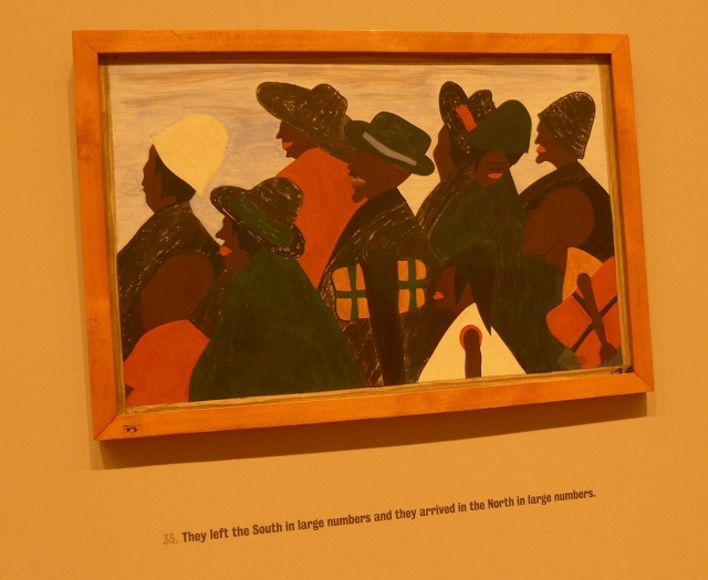 Jacob Lawrence: The Great Migration